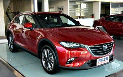 Послезавтра начнутся продажи нового кроссовера Mazda CX-4