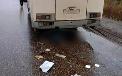 В Рязани автобус насмерть сбил женщину