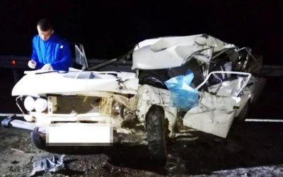 Водитель ВАЗа погиб в ДТП в Мостовском районе