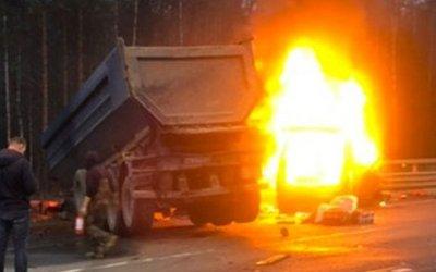 Семь человек погибли в ДТП на ЗСД в Петербурге