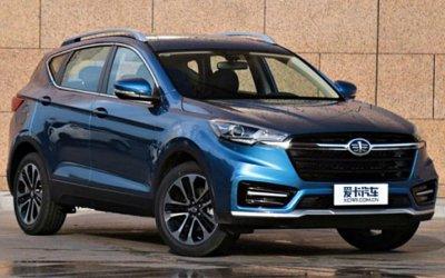 Новый кроссовер FAW— конкурент Hyundai Creta