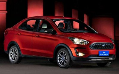 Ford представил «внедорожный» седан KaUrban Warrior