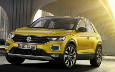 Кроссовер Volkswagen T-Cross получил удлинённую версию