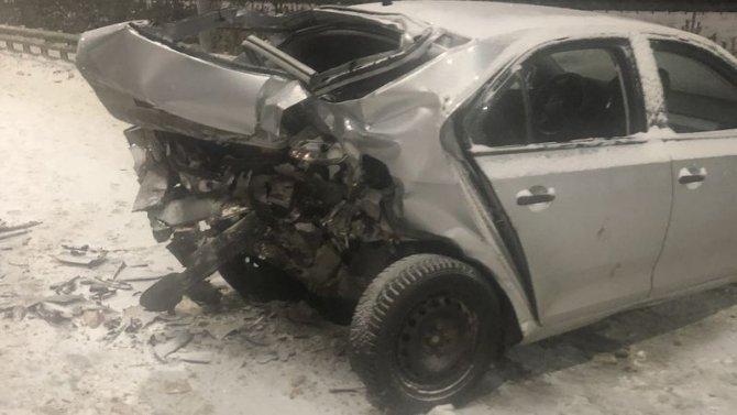 Трое детей пострадали в ДТП на трассе «Сургут– Нижневартовск»