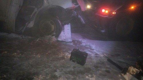 В Крыму в ДТП с грузовиками погиб водитель «Газели» (1)