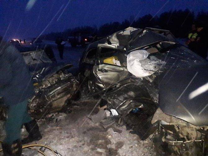 Шесть человек погибли в ДТП в Башкирии (1)