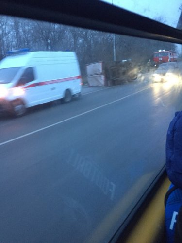 Два человека погибли в ДТП с грузовиком в Воронежской области (1)