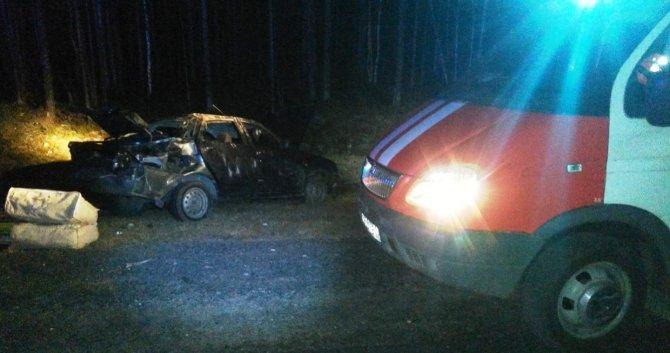 Три человека пострадали в ДТП в Карелии