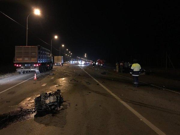 Четыре человека погибли в ДТП с автобусом под Орлом (2)