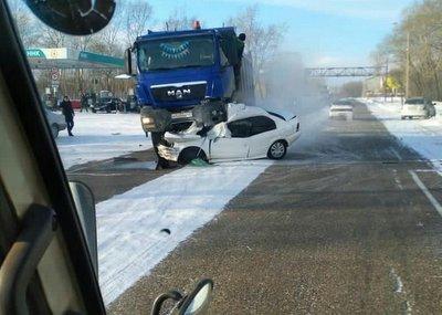 Три человека погибли в ДТП в Комсомольске-на-Амуре