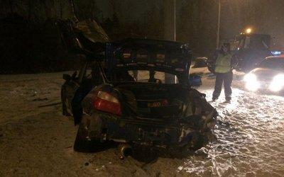 Два человека погибли в ДТП в Новосибирске