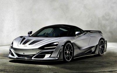 Немцы изMansory «зарядили» McLaren 720S