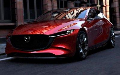 Показан очередной тизер новой Mazda 3