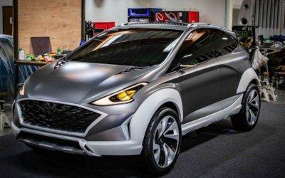 Hyundai представил прототип электрокроссовера SagaEV