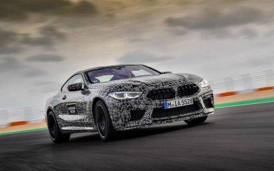 «Заряженное» купе BMW M8 проходит последние тесты