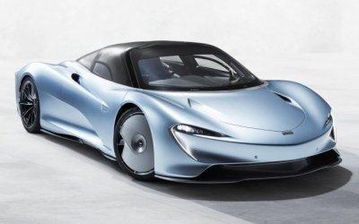 McLaren вывел надорожные испытания новый гиперкар