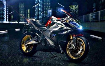 Компания Kymco показала электроцикл скоробкой передач