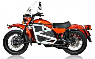 Мотоцикл «Урал» получил электропривод