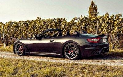 Как немцы «прокачали» итальянца: Maserati GranCabrio отPogea Racing
