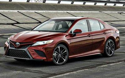 Выпуск Toyota Camry сокращён из-за падения спроса