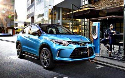 Honda представила кроссовер сэлектроприводом