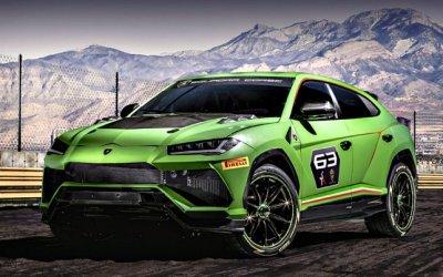 Lamborghini Urus ST-X— гоночная версия мощного кроссовера
