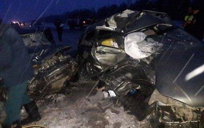 Шесть человек погибли в ДТП в Башкирии