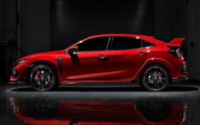 Обновлён «Горячий» хэтчбек Honda Civic Type R