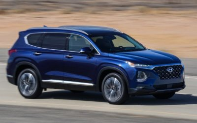 Новый кроссовер Hyundai Palisade тестируется надорогах