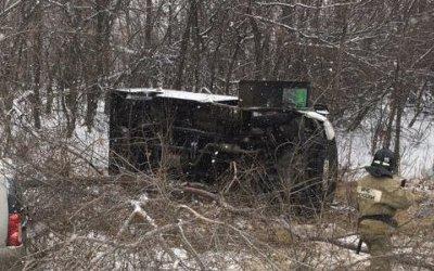 В ДТП с маршруткой под Самарой погиб человек