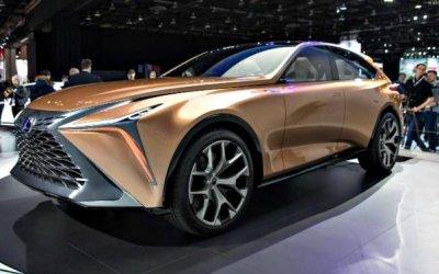 Lexus создаст конкурента Lamborghini Urus