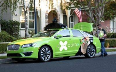 ВСША запущен проект подоставке продуктов беспилотными автомобилями