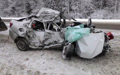 Женщина погибла в ДТП с бензовозом в Прикамье