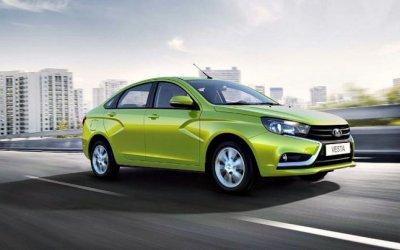 Lada Vesta возглавила октябрьский рейтинг продаж «АвтоВАЗа»