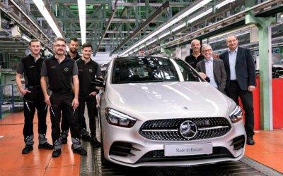 Mercedes-Benz запустил впроизводство новый B-Classe