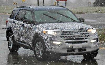 Начато дорожное тестирование обновлённого Ford Explorer
