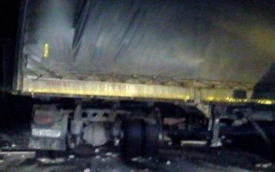 Водитель грузовика погиб в ДТП в Новосибирской области