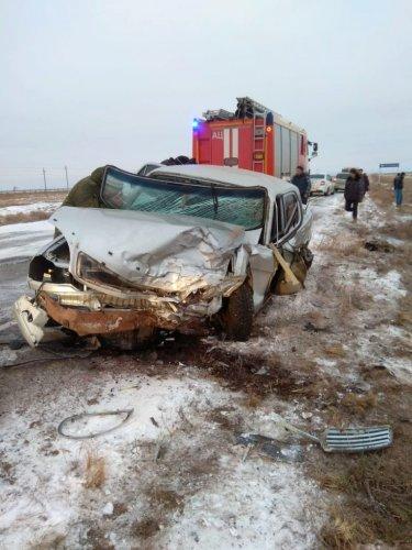 Женщина погибла в ДТП в Астраханской области (2)