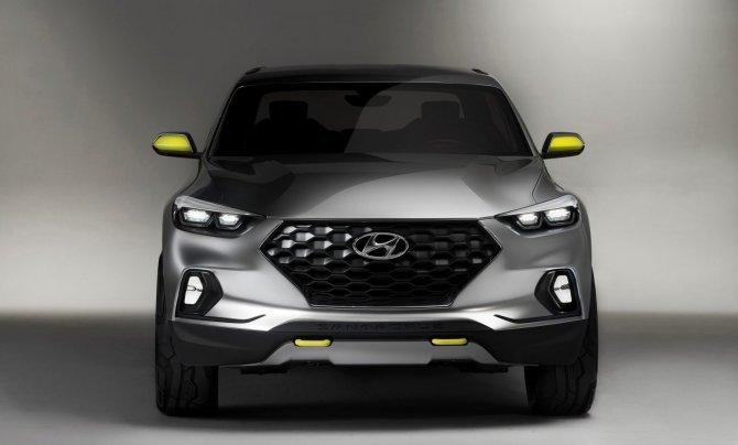 Пикап Hyundai Santa Cruz 3