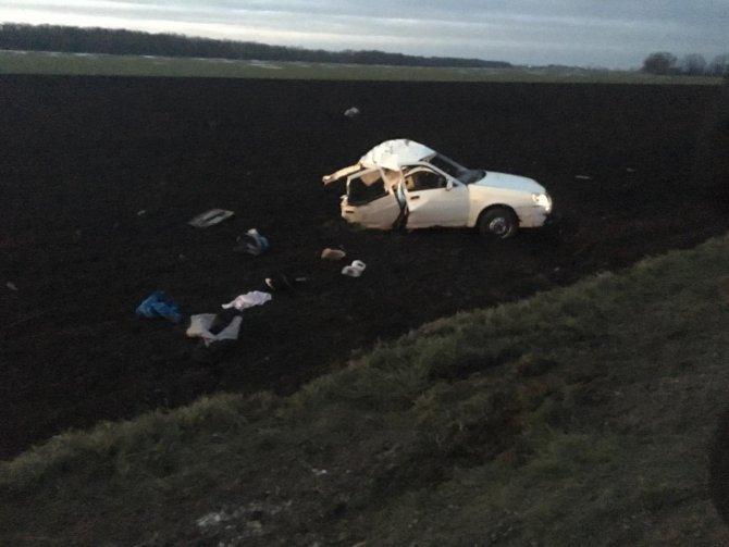 Женщина и двое детей погибли в ДТП на Кубани (1)