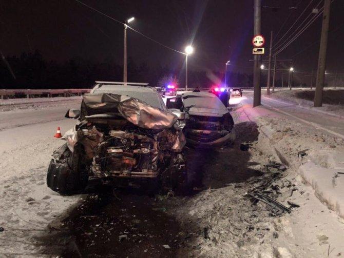 В Ангарске в ДТП погиб водитель иномарки