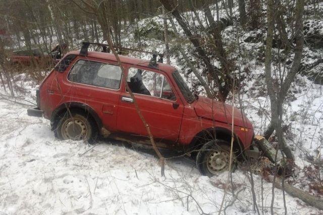В ДТП в Карелии пострадали оба водителя