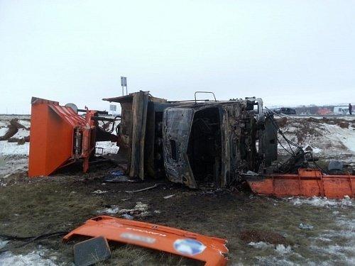 В ДТП с КамАЗом в Башкирии погибла пассажирка «Лады» (1)