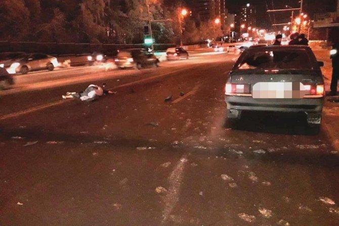 В Уфе насмерть сбили пешехода