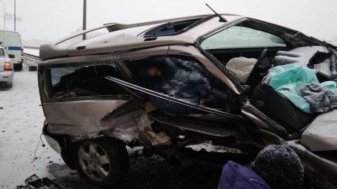 Женщина погибла в ДТП в Петербурге (2)