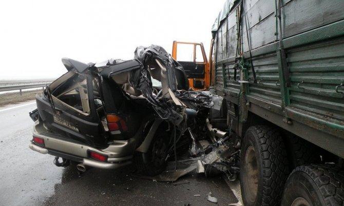 Женщина погибла в ДТП в Карелии