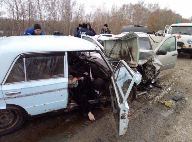 Женщина погибла в ДТП под Саратовом (1)