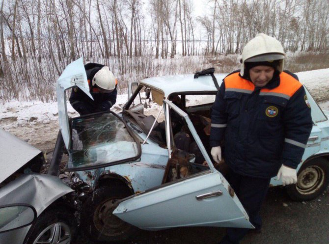 Женщина погибла в ДТП под Саратовом (2)