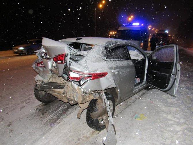 В Салавате в ДТП погиб водитель ВАЗа (4)