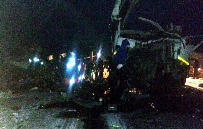 Шесть человек погибли в ДТП с автобусом в Ханты-Мансийском АО